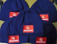 Вязаные шапки с логотипом, фото 1