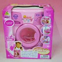 Детская стиральная машина 2027  вращается барабан