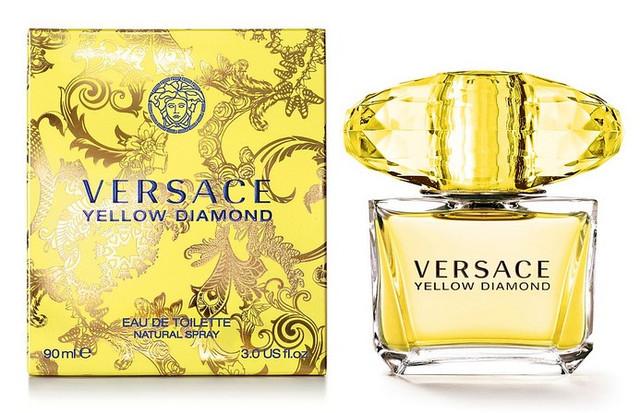 Женская оригинальная туалетная вода Versace Yellow Diamond, 90ml NNR ORGAP /05-34