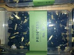 Набойки полиуретановые женские со штырьком PRINCESS Австрия  №4 черн.