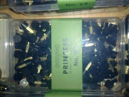 Набойки полиуретановые женские со штырьком PRINCESS Австрия  №4 белый, фото 2