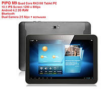 Планшет PIPO M9 Quad Core RK3188 Tablet PC 10.1 IPS Screen Android 4.2 2G RAM Bluetooth Dual Cam, фото 1