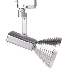 Светодиодный трековый светильник Horoz HL824L 12W серебро Код.57124