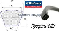 Ремень приводной клиновой B(Б)-1900 Rubena (Чехия)