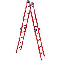 Шарнирная лестница Технолог Трансформер 4х4