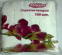 Салфeтка  Malvar белая 100л