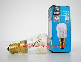 Лампа для духовки General Electric OVEN 25P1/CL/E14 230V  Е14 25Вт(Венгрия)