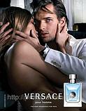 Мужская оригинальная туалетная вода Versace Pour Homme 100ml тестер NNR ORGAP /4-13, фото 2