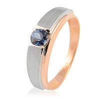 Золотой перстень с сапфиром