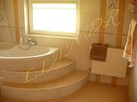 Дизайн интерьера ванной «Пьедестал»