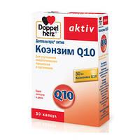 """БАД антиоксидант  """"Доппельгерц Коэнзим Q10""""-антиоксидант от преждевременного старения (30капс.,Германия)"""