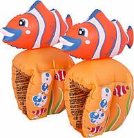 Нарукавники детские 23*15см Рыбки Bestway 32095
