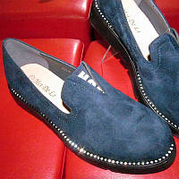 Женские удобные туфли на невысоком каблуке