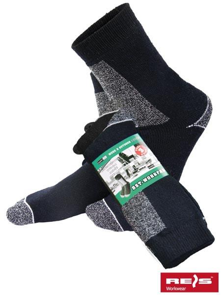 Шкарпетки для роботи та щоденного використання BST-WORKFAR MIX