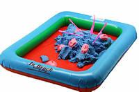 Песочница надувная для  игры скинетическим песком