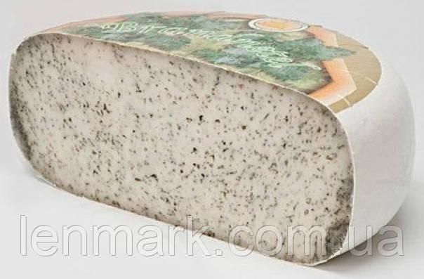 """Сыр GET IT. BRENNNESEL BR. 1 «Clarissa»  """"Биологический Козий сыр с крапивой"""" (первый сорт)"""