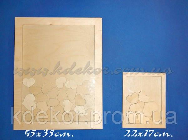 Рамка для побажань (30х40см.) заготівля для декору