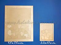 Рамка для пожеланий (20х15см.) заготовка для декора