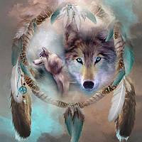 Набор алмазной вышивки Сильный волк KLN 40 х 40 см (арт. FS218)