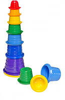 Детская игрушка пирамидка Сомбреро 3 ТехноК 2704