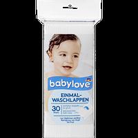 Гипоаллергенные полотенца одноразовые Babylove, 30 шт
