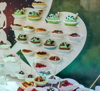 Сердце №2 подставка для капкейков, конфет, кексов заготовка , кексов заготовка для декора