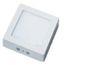 Светильник светодиодный Biom W-S12 W 12Вт накладной квадратный белый