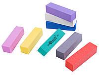 Бафы маникюрные SALON PROFESSIONAL (180 грит) для полировки ногтей, 4-х гранные