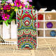 Чехол-накладка для Microsoft Lumia 430 с рисунком Цветок, фото 8