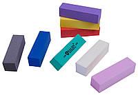Бафы маникюрные SALON PROFESSIONAL (240 грит) для полировки ногтей, 4-х гранные