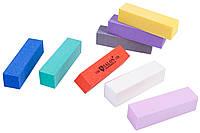 Бафы маникюрные SALON PROFESSIONAL (320 грит) для полировки ногтей, 4-х гранные
