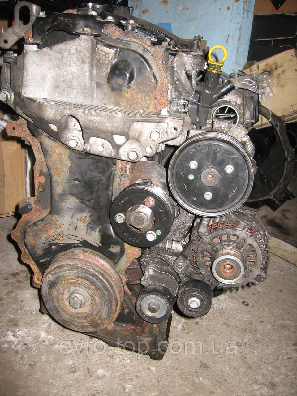 Двигатель мотор 2.3DCI б/у Renault Master 3 Opel Movano B Nissan NV-400 2010> (голый) M9T