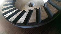 Шарошка  Чашка шлифовальная  турбо  алмазная торцевая 100 мм, бетона гранита мрамора 22,23 мм. Грубая шлифовка