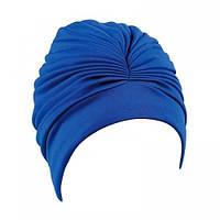 Женская шапочка для плавания BECO синий 7528 6