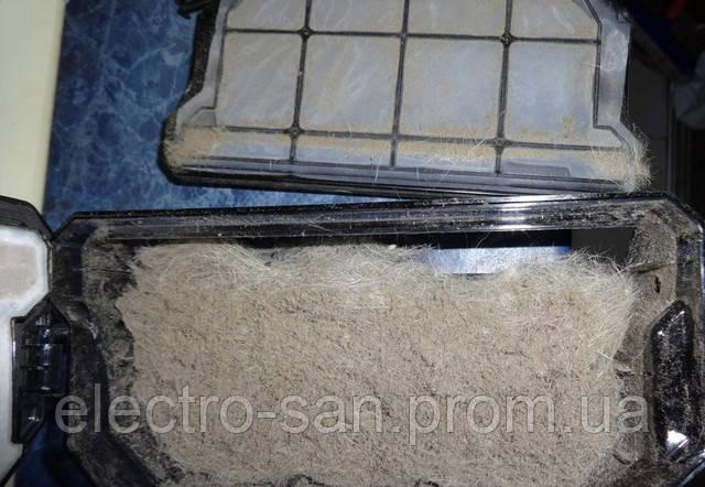 чистка фильтров пылесоса