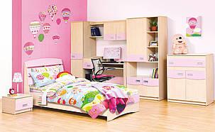 Кровать Терри розовый (Світ Меблів ТМ), фото 2