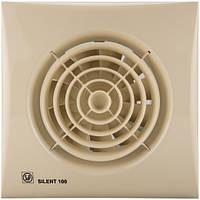 Вытяжной вентилятор Soler&Palau SILENT-100 CZ IVORY (230V 50), фото 1