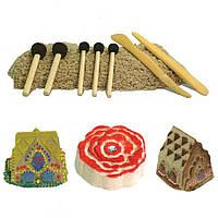 Набор инструментов для рисования красками Sand Paint   для Kinetik sand.