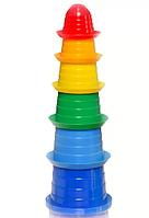 Детская игрушка пирамидка Сомбреро 2 ТехноК 2674