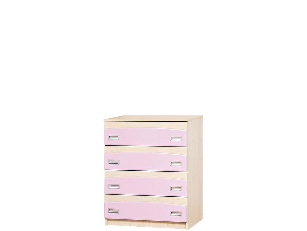 Комод Террі рожевий (Світ Меблів ТМ)