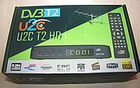 U2C T2 HD цифровой эфирный DVB-T2 ресивер (тюнер Т2)