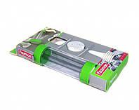 Кондитерский шприц с набором 13 дисков для печенья и 6 насадок для крема (пластик)
