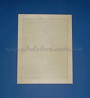 Рамка для фото (30х40см.) без стекла заготовка для декора
