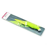 Овощной нож FISSMAN Rametto 8 см. салатовый