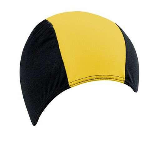 Шапочка для плавания BECO жёлтый/чёрный 7721 02