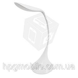 Настольная светодиодная лампа HSD9017B (2 Вт, 5 В, с диммером, встр. батарея на 600 мАч)