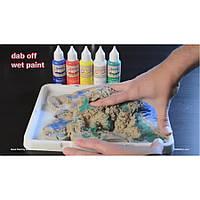 Поверхность  для рисования красками Sand Paint  для кинетического песка