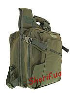Рюкзак сумка и жилет (3 в 1) Max Fuchs 30990B  Olive
