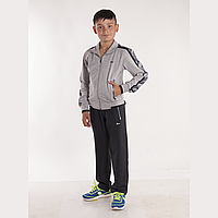 Подростковый серый спортивный костюм т.м. FORE пр-во Турция 12230