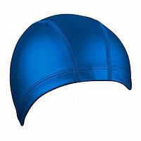 Шапочка для плавания ткань/PU BECO тёмно-синий 7729 7
